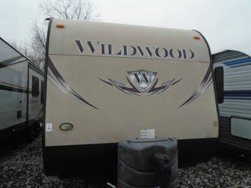 2015 Forest River Wildwood 27RKSS Travel Trailer RV