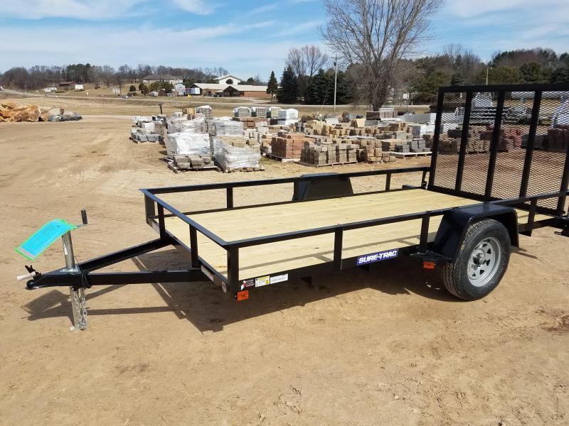 2020 Sure-Trac 6 x 12 Angle Iron Utility  3k Idler