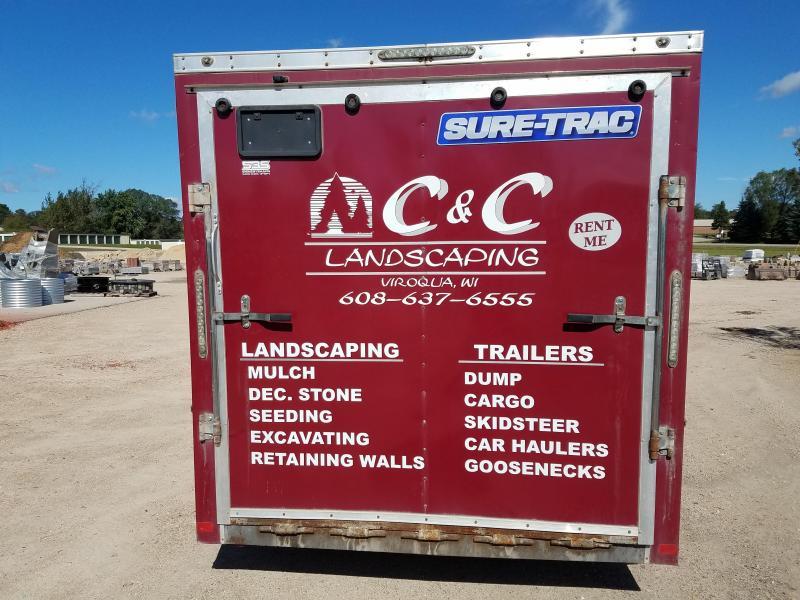 2014 Sure-Trac 7x14 10k Enclosed Cargo Trailer
