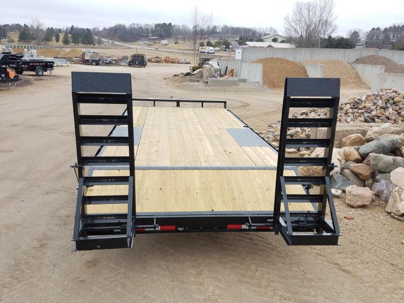 2020 Sure-Trac 8.5 X 19 + 3FT Beavertail Deckover 10k