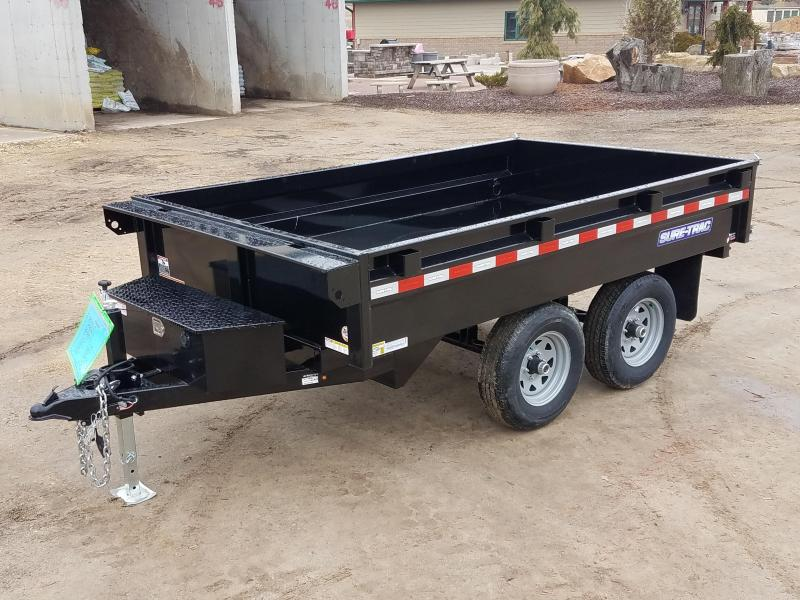 2020 Sure-Trac 72 IN X 10 Deckover Dump 10K Single Ram