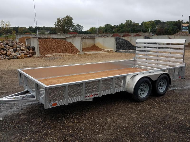 2020 Sport Haven AUT716TS Utility Trailer