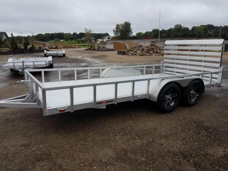 2020 Sport Haven AUT716D Utility Trailer