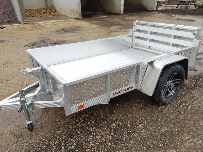 2020 Sport Haven AUT508DS-F Utility Trailer