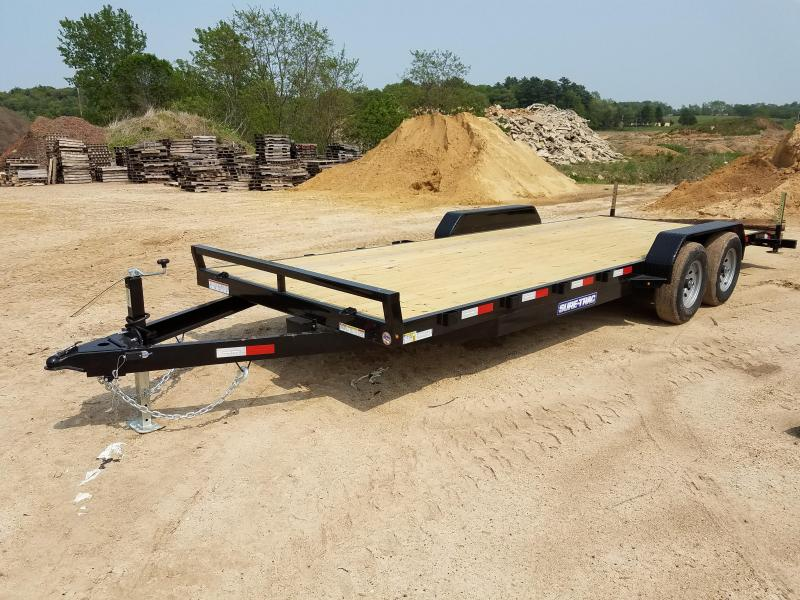 2019 Sure-Trac 7 X 22 Wood Deck Car Hauler  10k