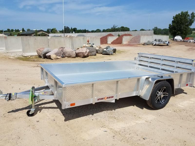 2018 Sport Haven AUT712D-S Utility Trailer