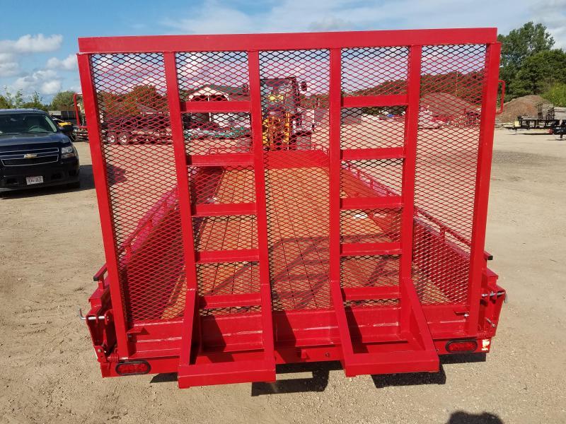 2020 Sure-Trac 7 X 20 Steel High Side  10K Tandem