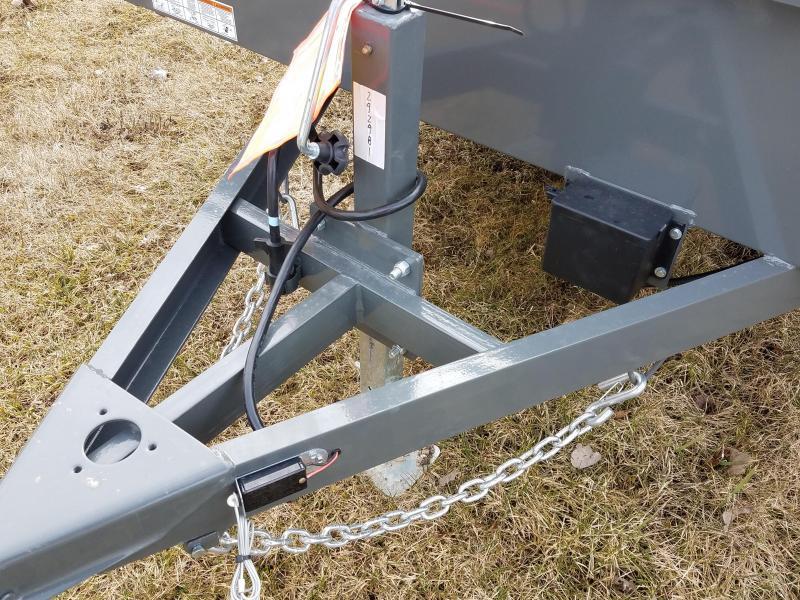 2020 Sure-Trac 7 x 12 Steel High Side  5K Brake