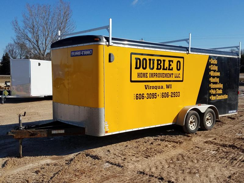 2013 Sure-Trac 7x20 7000lbs Enclosed Cargo Trailer