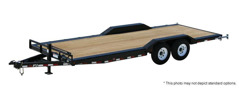"2018 PJ Trailers 22'x6"" Channel Super-Wide Trailer"
