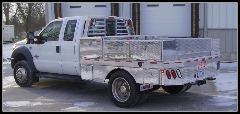 2019 Zimmerman 97x109 Aluminum Truck Body