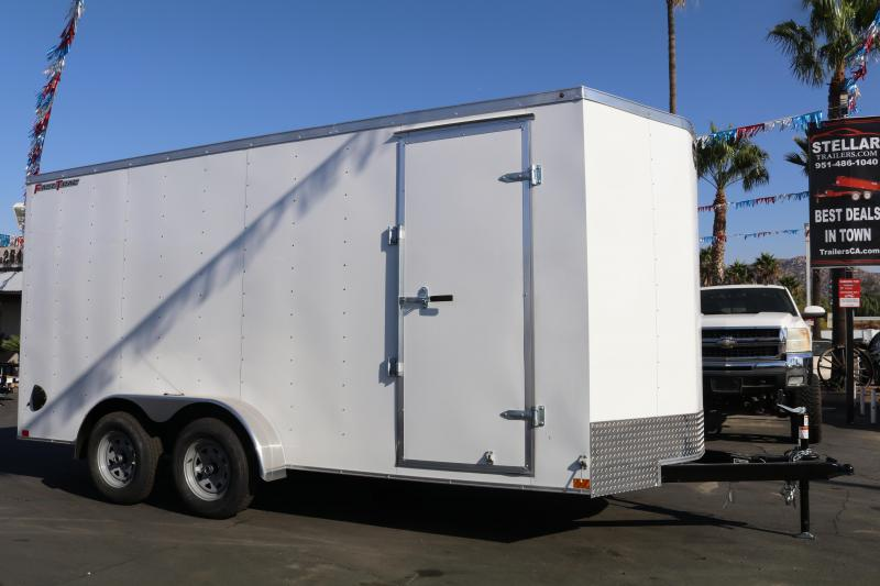 2020 Wells Cargo 7x16x83 Enclosed Cargo Trailer