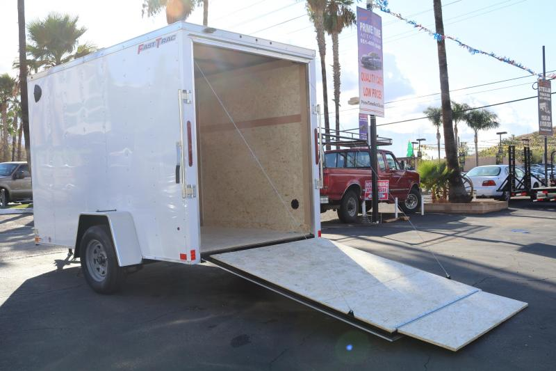 2020 Wells Cargo 6x10x7 Enclosed Cargo Trailer
