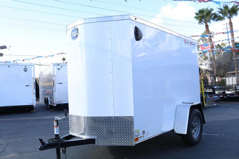 2020 Wells Cargo 5x8x6 Enclosed Cargo Trailer