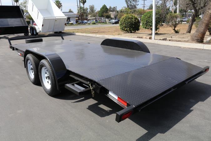 2020 Stellar 8.5 x16 Car Hauler w/ Diamond Plate