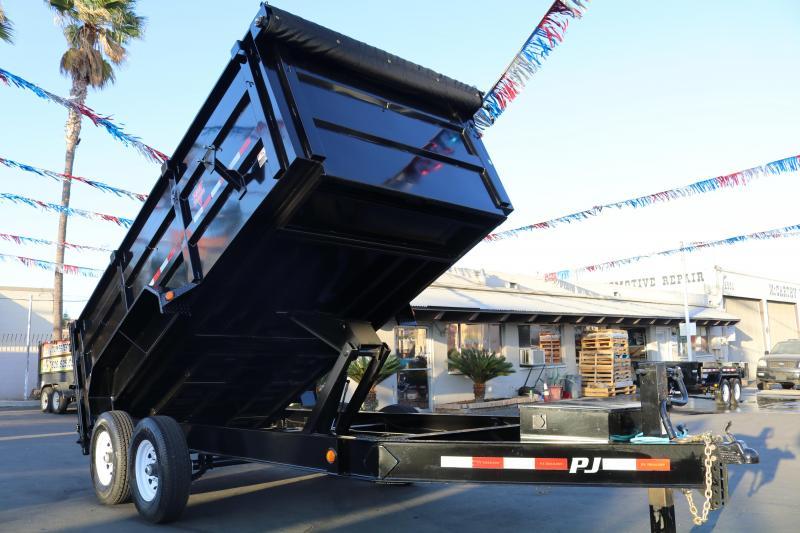 2020 PJ Trailers 14x83 Low Pro High Side Dump Trailer