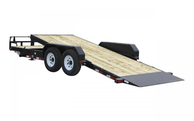2020 PJ Trailers PJ Trailer 20 x 83 T6-6-Inch-Channel-Equipment-T Flatbed Trailer