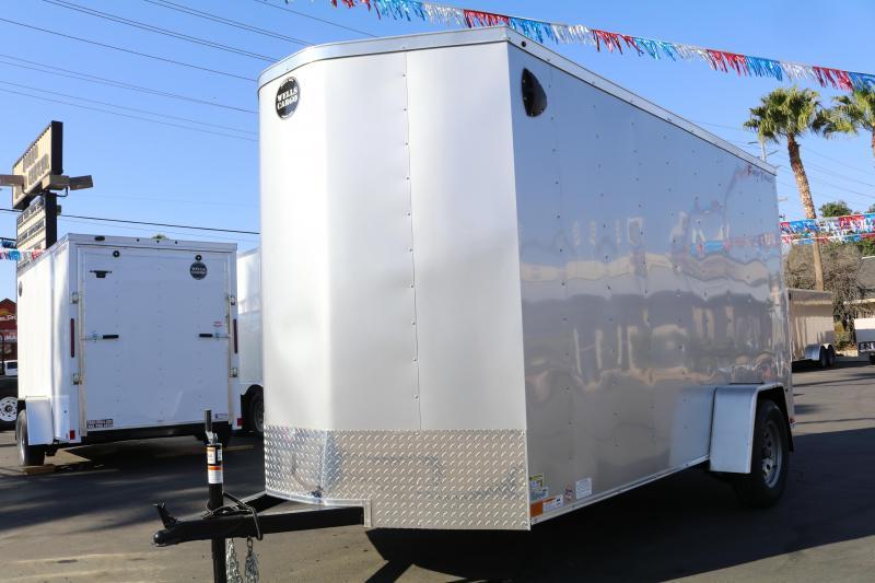 2020 Wells Cargo 6x12x83 Enclosed Cargo Trailer