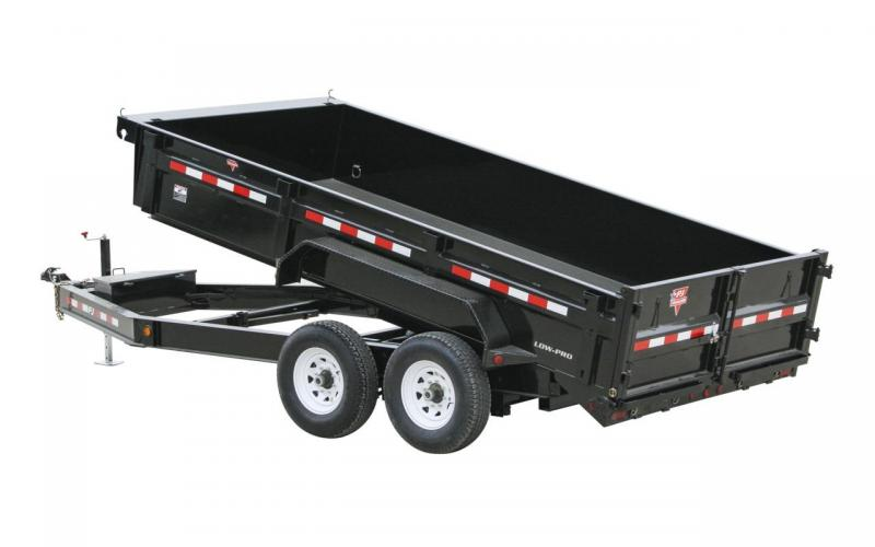 2020 PJ Trailers 10x5 Utility dump Dump Trailer