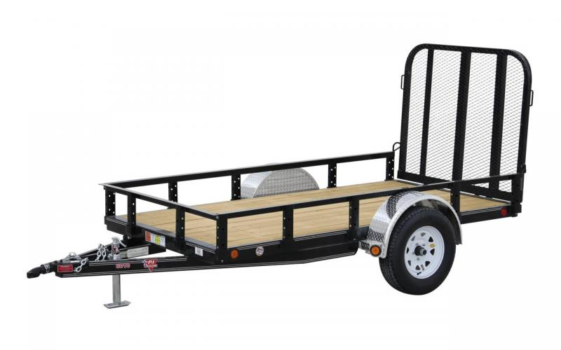 2020 PJ Trailers 5x8 Single Axel Utility Trailer