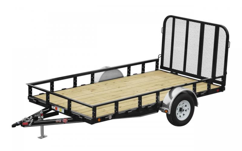 2020 PJ Trailers 12x83 Sngl Axle Channel Utility Utility Trailer