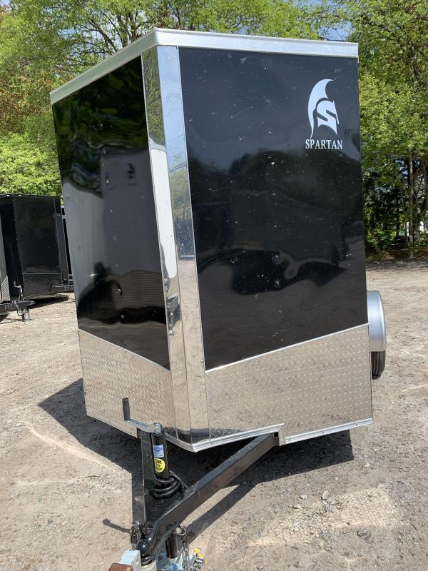 "2020 Spartan 6x10 +2ft V trailer ramp door/6"" extra height"