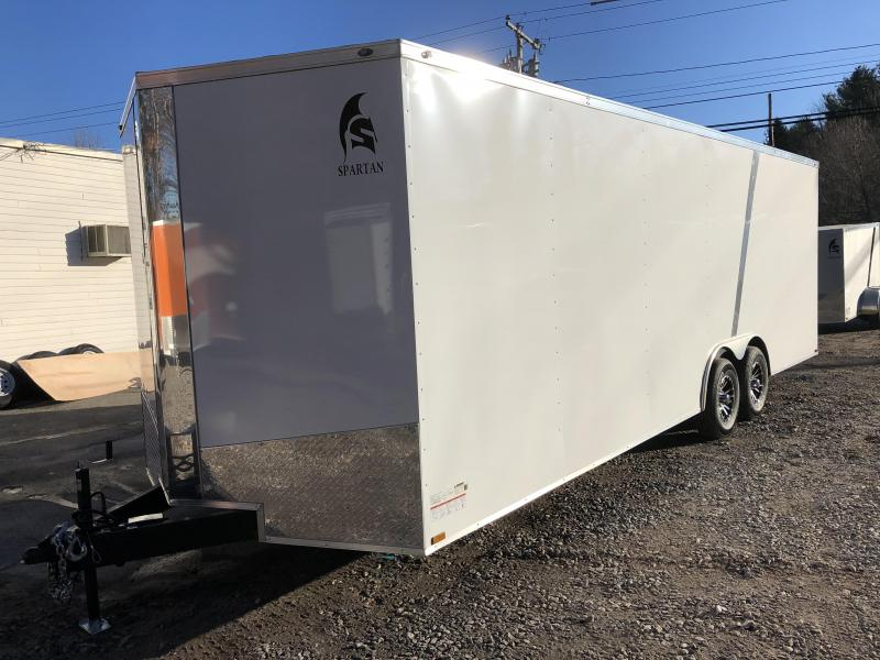 "2020 Spartan 8.5X24 +2ft V trailer/12"" extra height/9990gvwr"