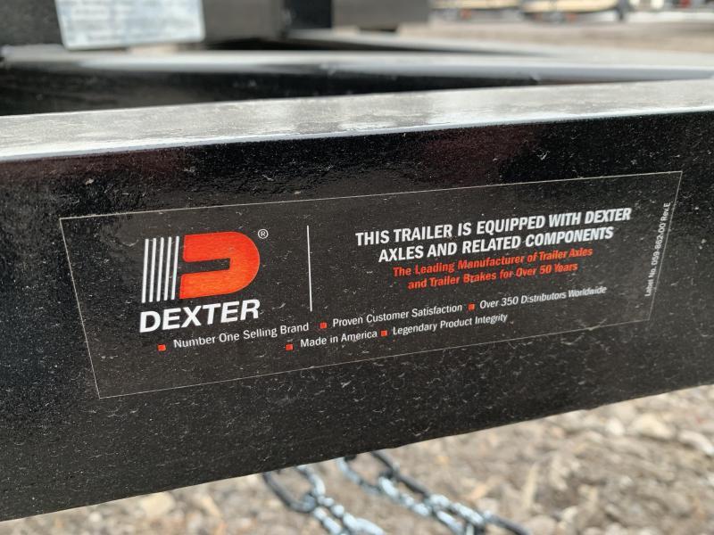 2020 D2E Trailer 5x8  2990gvwr single axle utility trailer