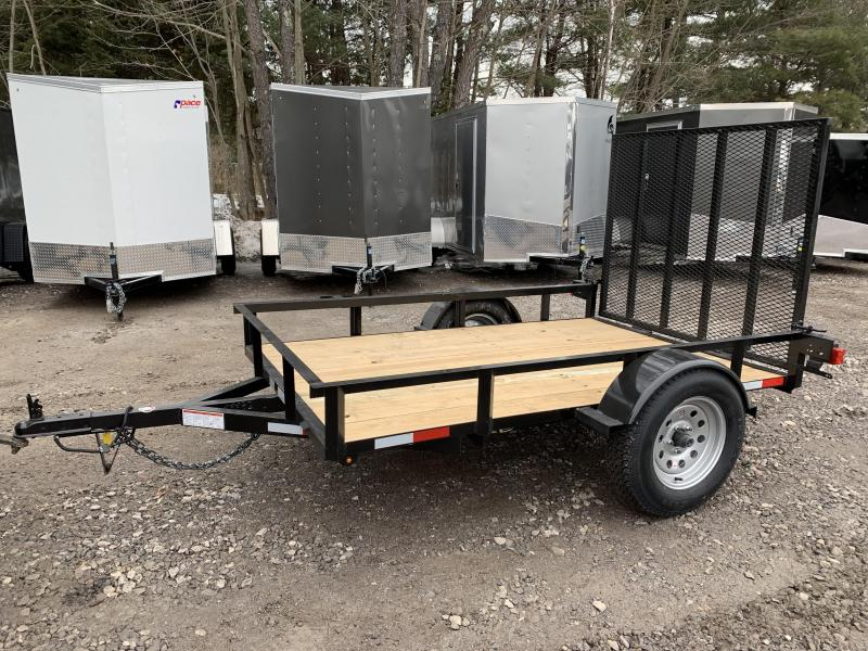 2020 D2E Trailer 5x8  2990gvwr single axle utility trailer