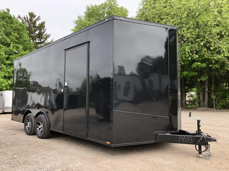 "2020 Spartan 8.5X18 +2ft V trailer/12"" extra height/7k gvw"