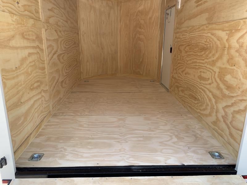 "2020 Spartan 7X12 +2ft V trailer ramp door/12"" extra height"