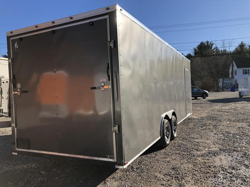 "2020 Spartan 8.5X24 +2ft V trailer/18"" extra height/9990gvwr"