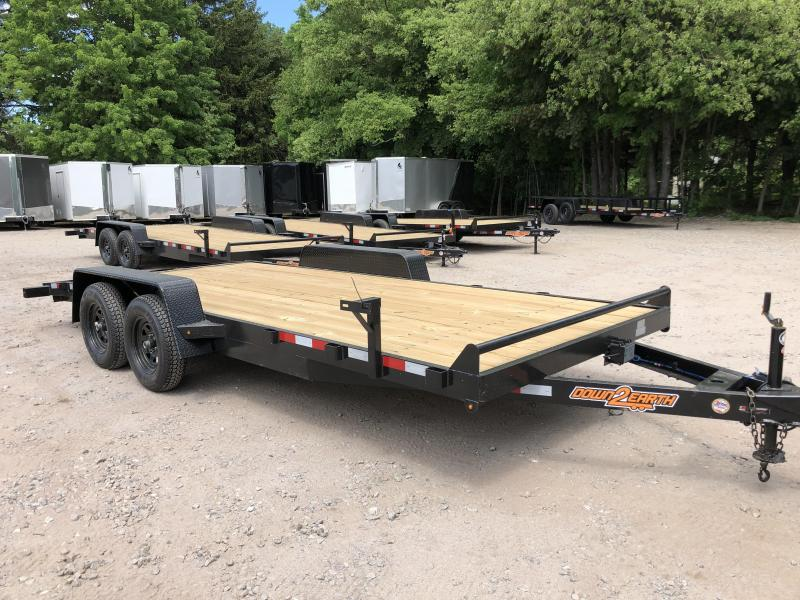 2020 Down 2 Earth 7x18 Car Hauler/7000gvwr