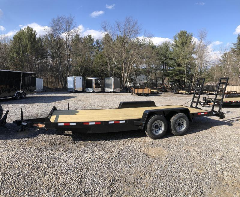 2019 Down 2 Earth Trailer 7x20 Equipment Trailer 9990gvwr