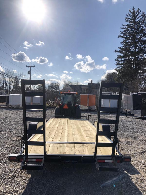 2019 Down 2 Earth Trailer 7x20 Equipment Trailer 9990gvwr