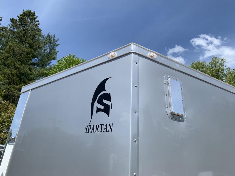 "2020 Spartan 8.5X24 +2ft V trailer/6"" extra height 9990 gvwr"
