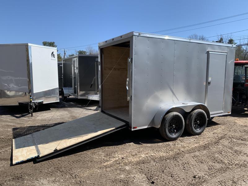 "2020 Spartan 6X12 +2ft V trailer ramp door/6"" extra height"