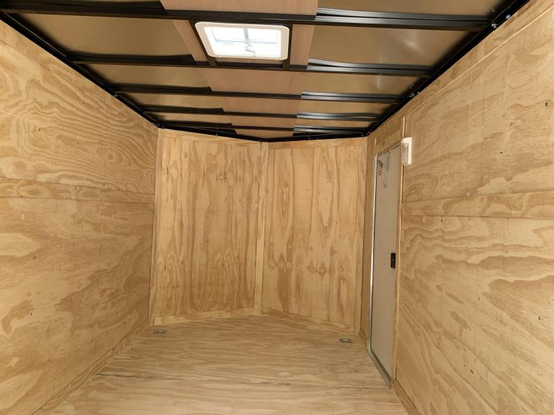 "2020 Spartan 7X14 +2ft V trailer double doors/6"" extra height"