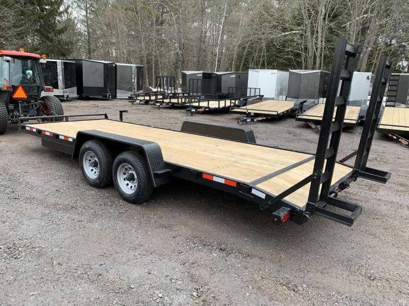 2020 D2E 7x20 equipment trailer 14k GVWR