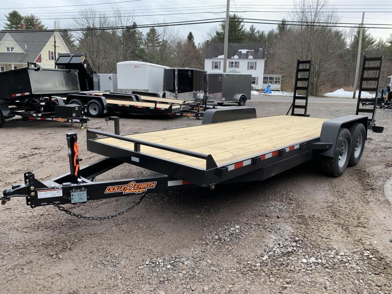 2020 D2E 7x20 equipment trailer 14k GVWR