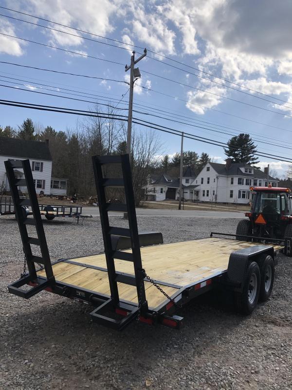 2019 D2E 7x20 equipment trailer 14k GVWR