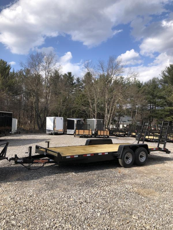 2019 D2E 7x20 equipment trailer 14k GVWR