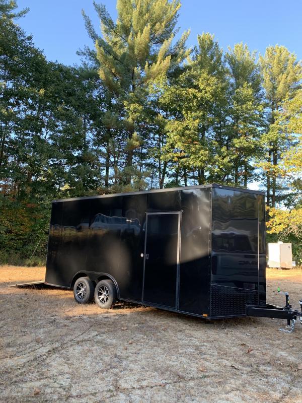 "2020 spartan 8.5x18 trailer w/18"" extra height/blackout"