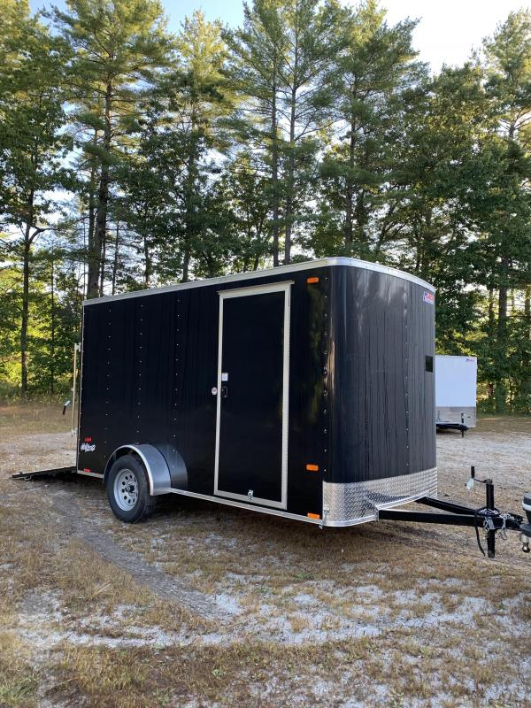 "New PACE 6X12  trailer ramp door/undercoated frame/6"" extra"