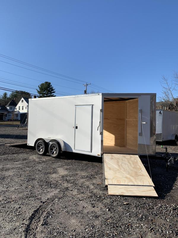 """2020 Spartan 7x14 +5ft V trailer/12"""" extra height/driver in-drive out"""
