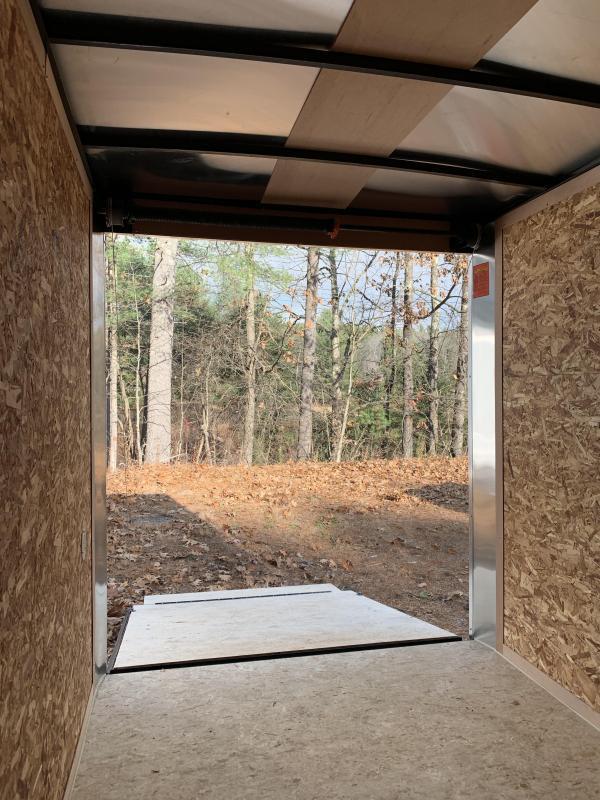 SALE 2020 PACE 6X12 +2ft V trailer ramp door/undercoated