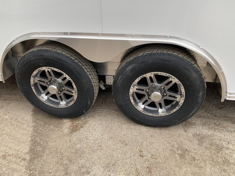 """2020 EZ Hauler 8x20 Aluminum Car Hauler/9990gvwr/12"""" extra height"""