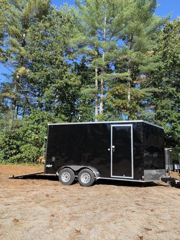 """New PACE 7X14 +2ft V trailer ramp door/12"""" extra height"""