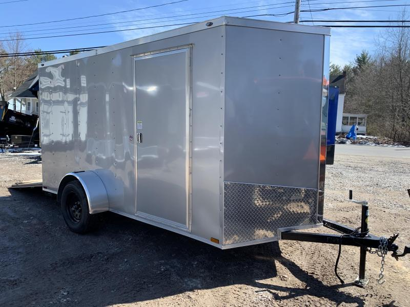 SALE 2020 Spartan 6x12 +2ft V trailer ramp door/stabilizers