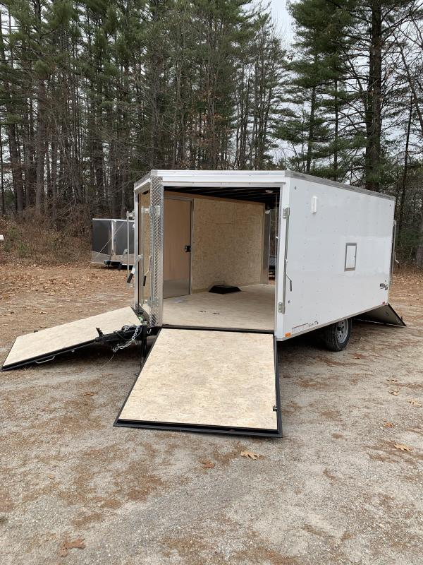 2020 Pace 101x12 (2) place trailer with brakes/drive in-drive out doors